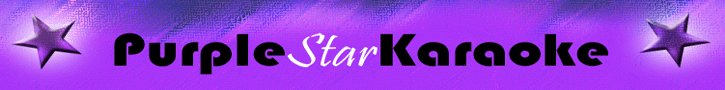 purplestar karaoke graphic